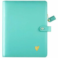 Websters Pages - Color Crush Collection - Composition Planner - Light Teal