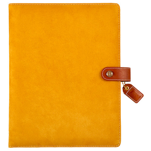 Websters Pages - Color Crush Collection - Composition Planner - Mustard Suede