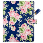 Websters Pages - Color Crush Collection - Composition Planner - Navy Floral