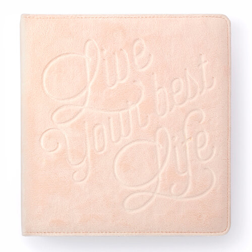 Websters Pages - Color Crush Collection - Creative Photo Album - Small - Ballet Pink