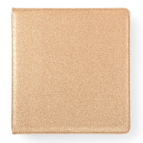 Websters Pages - Color Crush Collection - Creative Photo Album - Small - Gold Glitter
