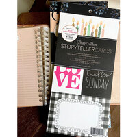 Websters Pages - Color Crush Collection - Storyteller Photo Album Cards and Frames Pad