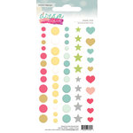 Websters Pages - Color Crush Collection - Enamel Dots Pack - Dream In Color