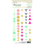 Websters Pages - Color Crush Collection - Enamel Dots Pack - Happy