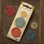 Websters Pages - Designer Threads - Fabric Embroidery Pieces - Doilies