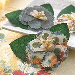 Websters Pages - Spring Market Collection - Florettes - Fabric Flowers