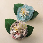 Websters Pages - Ladies and Gents Collection - Florettes - Fabric Flowers