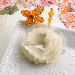 Websters Pages - Let's Celebrate Collection - Butterfly Pin and Flower