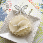 Websters Pages - All About Me Collection - Butterfly Pin and Flower