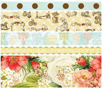 Websters Pages - Lullaby Lane Collection - Fabric Ribbons