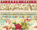 Websters Pages - Garden Gala Collection - Fabric Ribbons