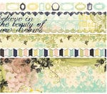 Websters Pages - Lifes Portrait Collection - Fabric Ribbons