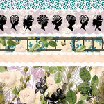 Websters Pages - Hollywood Vogue Collection - Fabric Ribbons