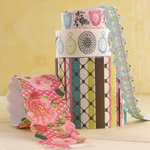 Websters Pages - Ladies and Gents Collection - Fabric Ribbons