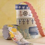 Websters Pages - Yacht Club Collection - Fabric Ribbons