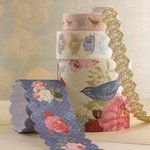 Websters Pages - Country Estate Collection - Fabric Ribbons