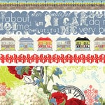 Websters Pages - All About Me Collection - Fabric Ribbons