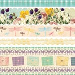 Websters Pages - Western Romance Collection - Fabric Ribbons