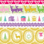 Websters Pages - Winter Fairy Tales Collection - Fabric Ribbons