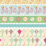 Websters Pages - Sunday Picnic Collection - Fabric Ribbons