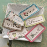 Websters Pages - Ladies and Gents Collection - Fabric Tickets