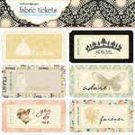 Websters Pages - In Love Collection - Fabric Tickets