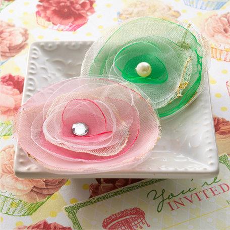 Websters Pages - Let's Celebrate Collection - Florettes - Fabric Flowers - Princess Petals
