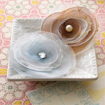 Websters Pages - Western Romance Collection - Florettes - Fabric Flowers - Princess Petals
