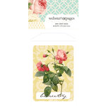 Websters Pages - Modern Romance Collection - Mini Craft Bags - Floral with Word