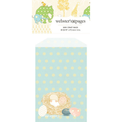 Webster's Pages - New Beginnings Collection - Mini Craft Bags - Nest