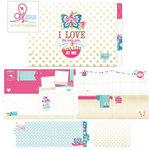 Websters Pages - Sweet Routine Collection - Chipboard Album