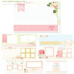 Websters Pages - Growing Up Girl Collection - Chipboard Album