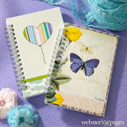 Websters Pages - Best Friends Collection - Mini Notebooks
