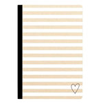 Websters Pages - Color Crush Collection - Composition Notebook - Kraft Stripe - Lined