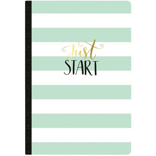 Websters Pages - Color Crush Collection - Composition Notebook - Just Start - Undated Calendar