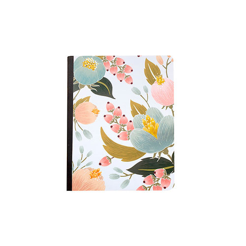 Websters Pages - Color Crush Collection - Composition Notebook - Undated - Floral Cover