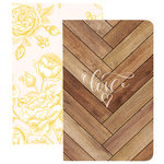 Websters Pages - The Good Life Collection - Pocket Notebooks - Love and Flowers