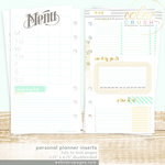 Websters Pages - Color Crush Collection - Personal Planner - Inserts - Lists to Love