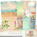 Websters Pages - Color Crush Collection - Personal Planner - Inserts - Staying Inspired