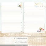 Websters Pages - Color Crush Collection - A5 Planner - Inserts - Write It Down