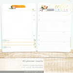 Websters Pages - Color Crush Collection - A5 Planner - Inserts - Memory Keeping