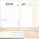 Websters Pages - Color Crush Collection - A5 Planner - Inserts - Lists to Love