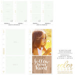 Websters Pages - Color Crush Collection - Personal Planner - Inserts - Photo Sleeves - Variety Pack