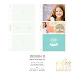 Websters Pages - Color Crush Collection - A5 Planner - Inserts - Photo Sleeves - Design D - 8 Pack