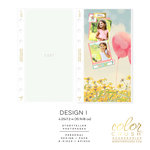 Websters Pages - Color Crush Collection - Personal Planner - Inserts - Photo Sleeves - Design I - 8 Pack