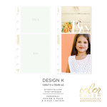 Websters Pages - Color Crush Collection - Personal Planner - Inserts - Photo Sleeves - Design K - 8 Pack