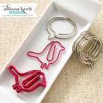 Websters Pages - Hello World Collection - Paperclips - Birds and Bubbles