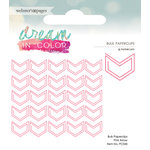Websters Pages - Dream in Color Collection - Paperclip - Arrow - Pink