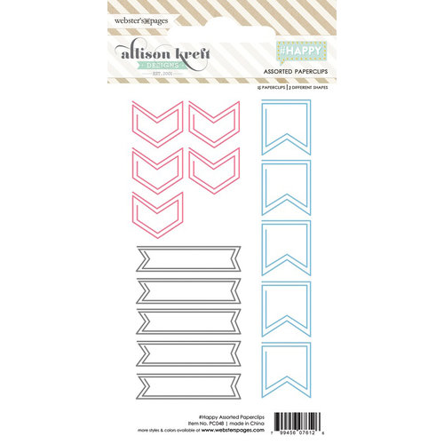 Websters Pages - Happy Collection - Paperclips