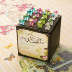 Websters Pages - Push Pins - Long Needle - Butterfly